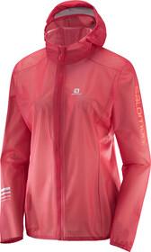 Salomon Lightning Race WP Jacket Dame hibiscus